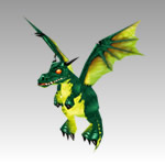 Emerald Whelpling small pet from WoW