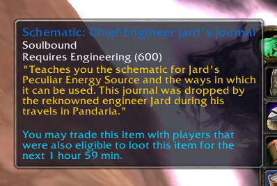 Schematic: Chief Engineer Jard's Journal
