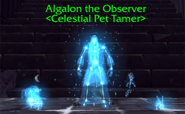 Algalon, Celestial Pet Tamer