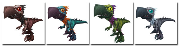 4 New Falcosaur pets