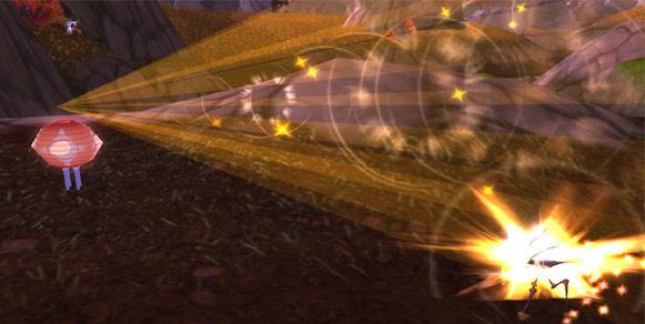 Festival Lantern using Flash