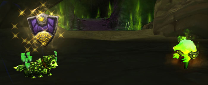 Fel Pup using Crouch