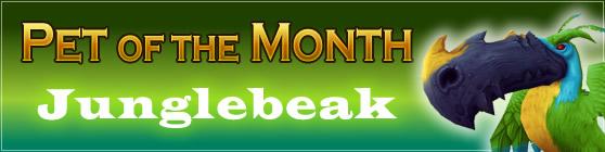 Junglebeak - Pet of the Month: May 2015