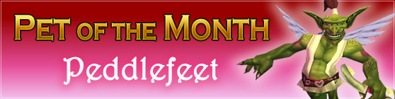 Peddlefeet - Pet of the Month February 2016