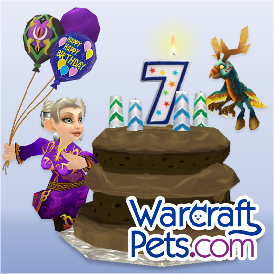 WarcraftPets' 7th Birthday!