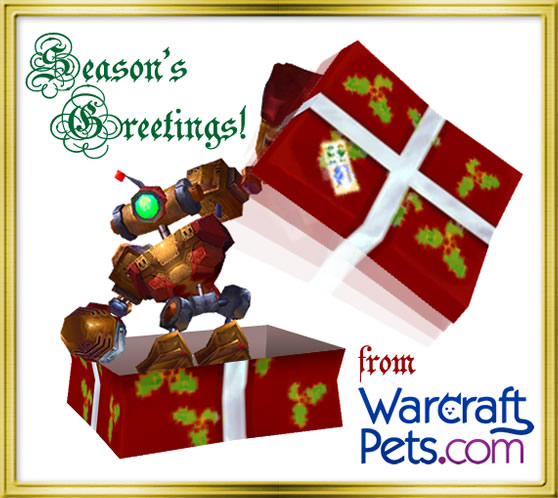 Season's Greetings from WarcraftPets