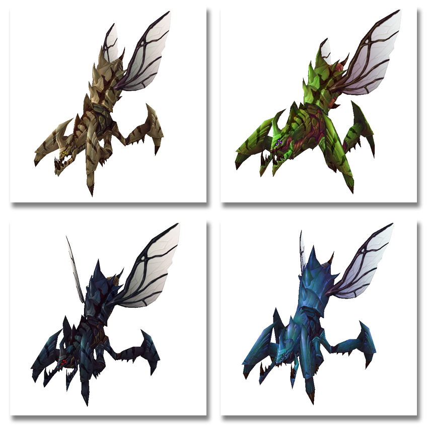 Ravager Hatchling Colors