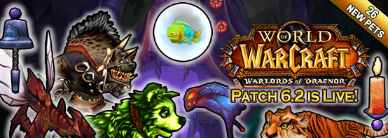 6.2 is Live with 26 New Pets!