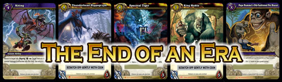 WoW TCG Ending: The end of an era