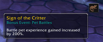 Pet Battle Bonus Event buff