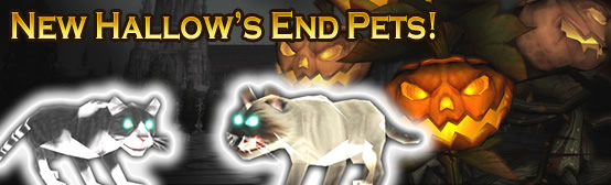New Hallow's End pets