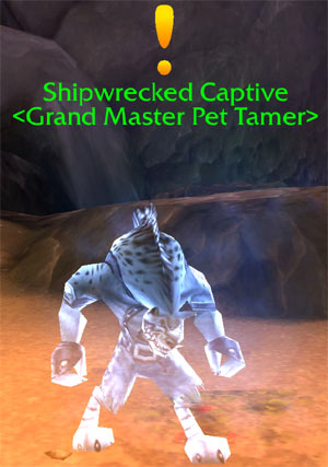 Shipwrecked Captive Grand Master Pet Tamer