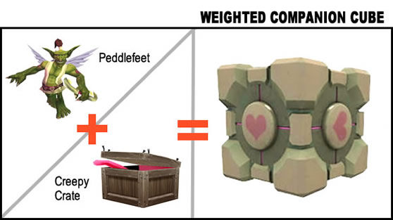 New species: Weighted Companion Cube