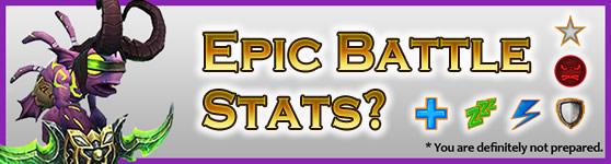 Epic Pet Battle Stats?