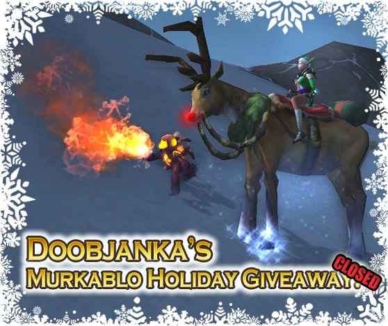 Doobjanka's Murkablo Holiday Giveaway Closed