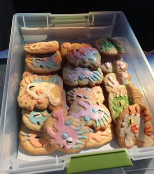 Murloc cookies