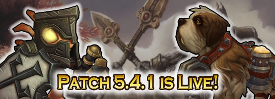 Patch 5.4.1 is Live with 2 New Pets!