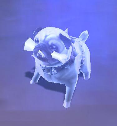 Spirit Wand used on Perky Pug with Indestructible Bone