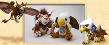 Wind Rider and Gryphon Plushies}