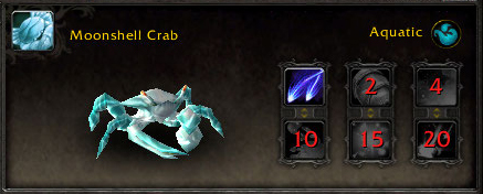 Moonshell Crab