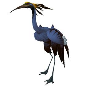 Azure Crane Chick