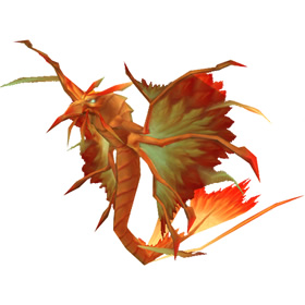 Golden Dragonhawk Hatchling