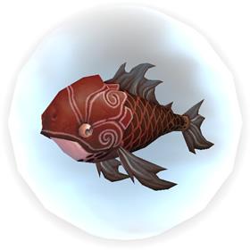 Tiny Red Carp