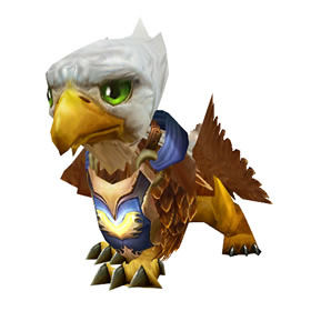 Wildhammer Gryphon Hatchling
